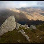 Rocks over Cwm Lloer