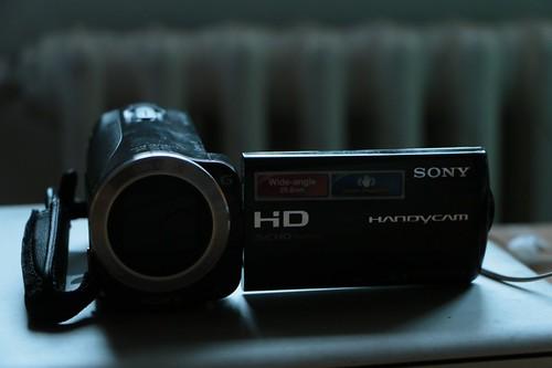 la mia videocamera