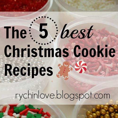 5 Best Cookie Recipes