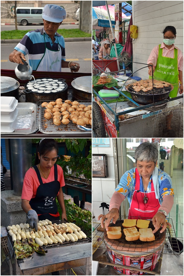 Bangkok Street Food Sellers