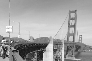 Golden Gate Bridge - View from the Pavillon