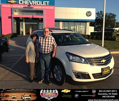 Four Stars Auto Ranch Chevrolet Buick Chrysler Jeep Dodge Ram SRT Henrietta Texas Customer Reviews Dealer Testimonials-Billy & Connie Johnson