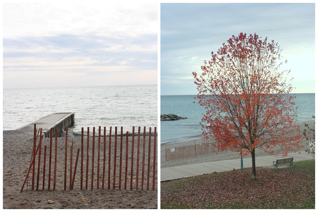 November at the Beaches, Toronto