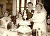 Aug 1954 Frederick and Edith Dewey wedding