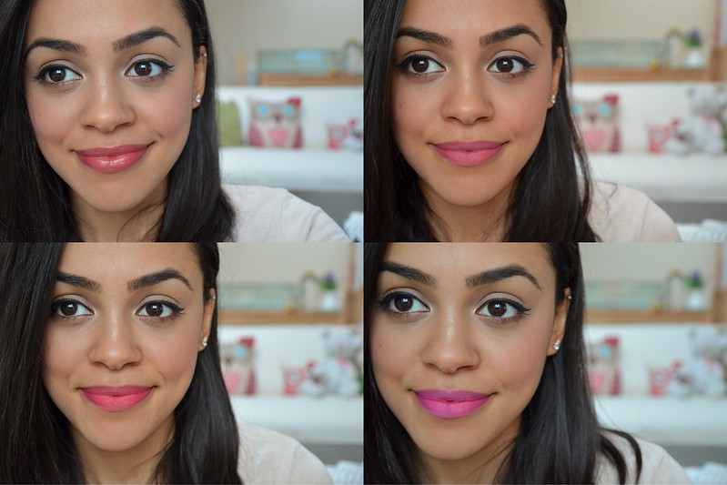 Pink and Berry Lips - Tanned Skin - Bourjois Rouge Edition Barry M Lip Stain FACE