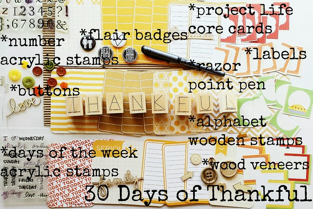 workspace wednesday: 30 days of thankful