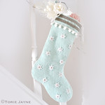 snowflake stocking tutorial