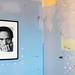 """Dino Pedriali (né en 1950) """"Portrait de Pasolini"""" (1975, photographie noir & blanc) ancienne prison Sainte-Anne, Avignon (Vaucluse, France) by Denis Trente-Huittessan"""