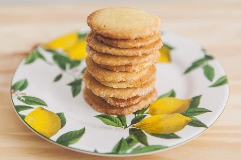 Biscoitos de Limão Siciliano