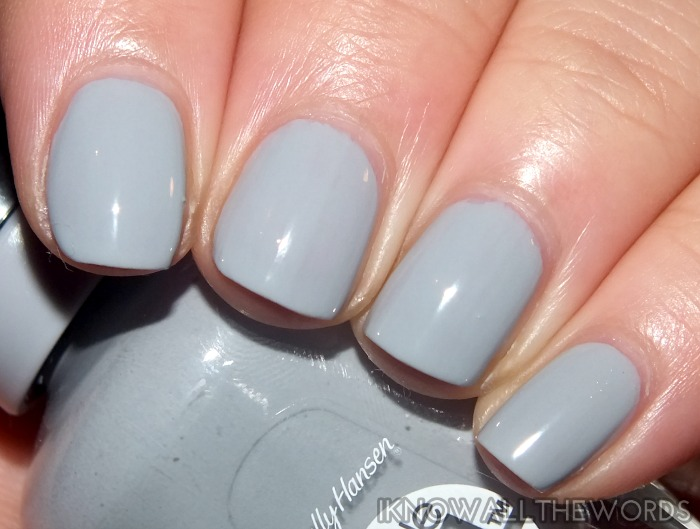 sally hansen miracle gel- greyfitti