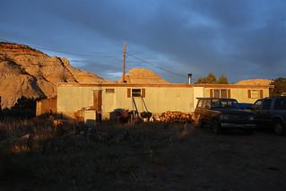 Chuck & Di's trailer, Boulder Utah