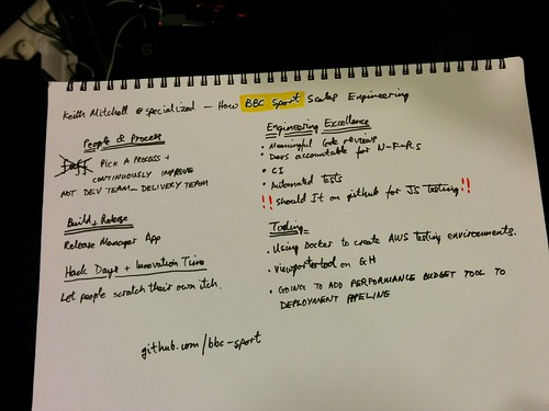 Notes from Keith Mitchell's talk at Velocity Conf EU 2014 | by James Abley