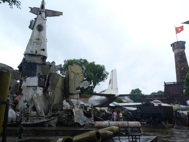 Museo de Historia del Ejército de Vietnam en Hanoi