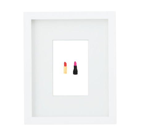 lipsticks-framed