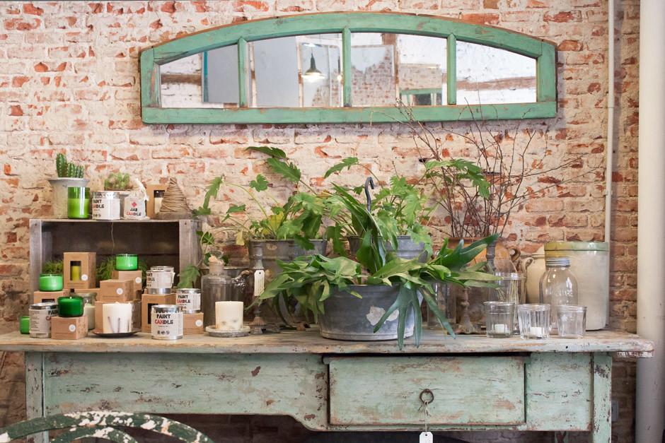 Il Tavolo Verde Organic Cafe Anticmarket Madrid