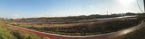 공릉천 가을풍경