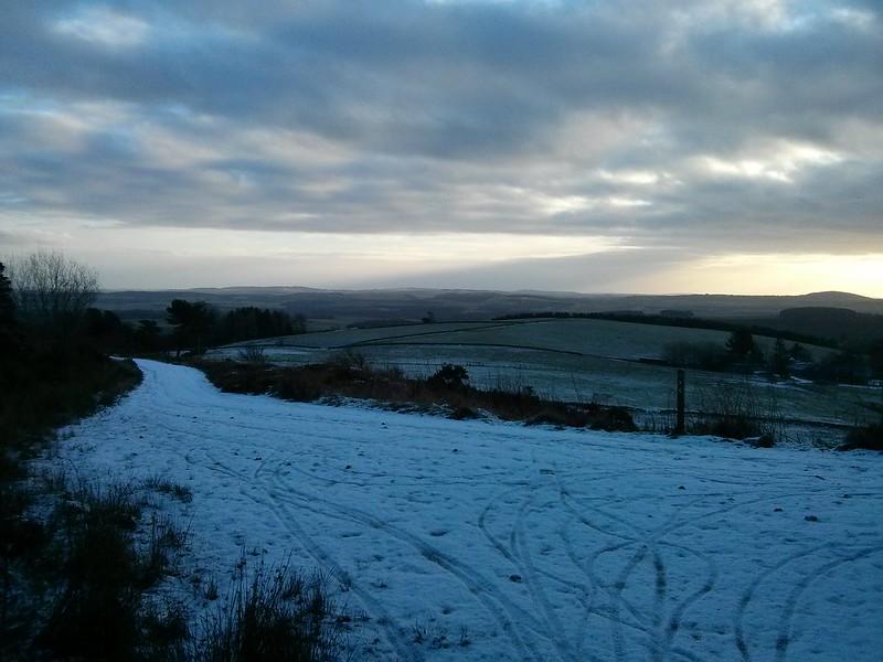 Looking across Aberdeenshire