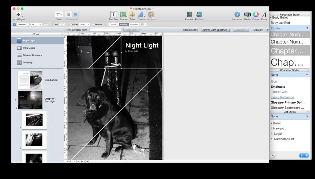 iBook - Night Light