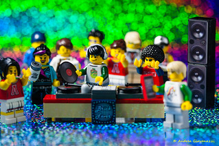 Lego DJ in Action 4
