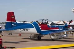 D-FEMT - 168 - EIS Aircraft - Pilatus PC-9B - Fairford RIAT 2006 - Steven Gray - CRW_1496