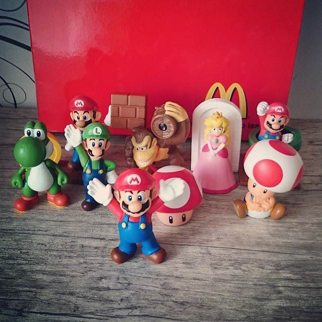 Super Mario no Mc Donald's