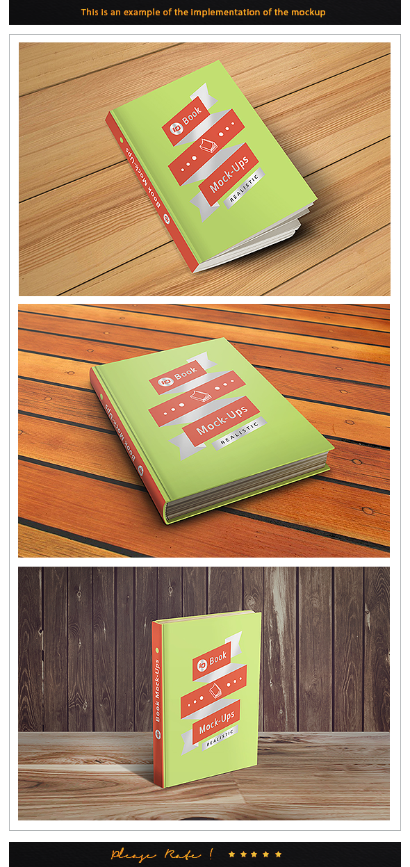 ID Book Mockup Implementation IDsains