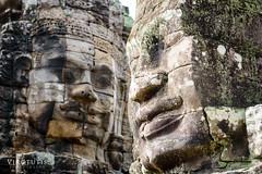 Bayon, Angkor Thom @ Angkor Wat, Cambodia.