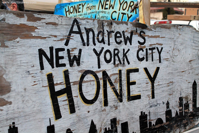Honey in New York.