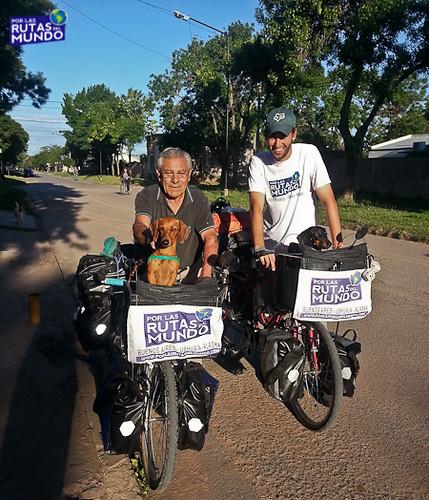 Por las Rutas del Mundo en Bici en Buenos Aires
