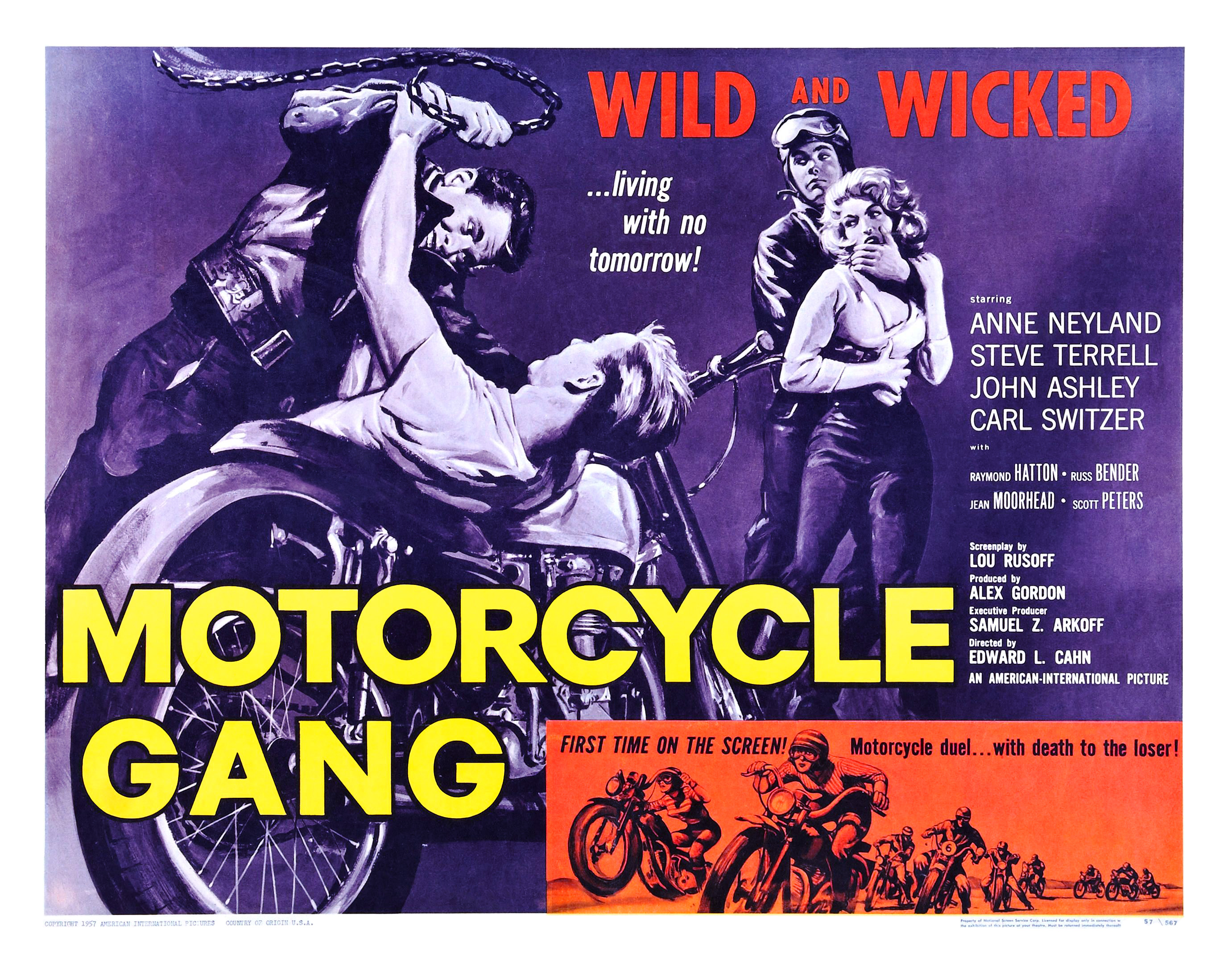 Motorcycle Gang (1957)