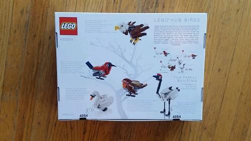 LEGO Hub Birds 4002014 Back