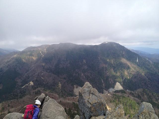 鎌ヶ岳から御在所岳