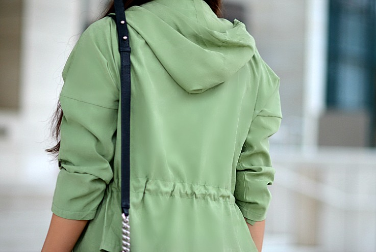 DSC_6496 Choies Army Green hooded jacket, Tamara Chloé