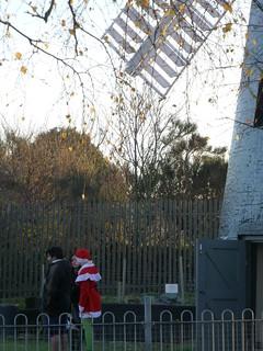 Santa at Brixton Windmill 13/12/14