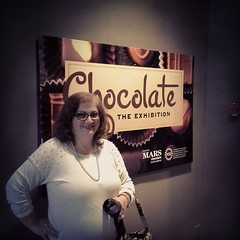 We did go to the Chocolate exhibit at the Academy of Natural Sciences