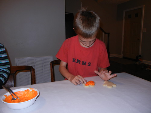 Oct 27 2014 FHE Halloween Sugar Cookies (9)