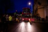 Broad Street, Church Road and The Causeway were closed to traffic during the lantern procession through Teddington
