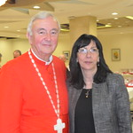 Cardinal Vincent and Laila Asfoura from Laila Tours
