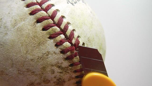 Baseball Keychain 8