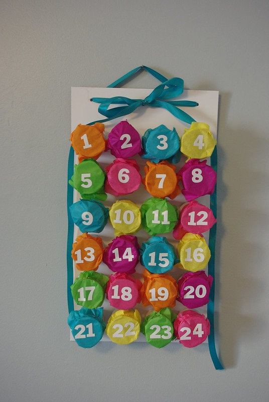 Punch-Through Advent Calendar