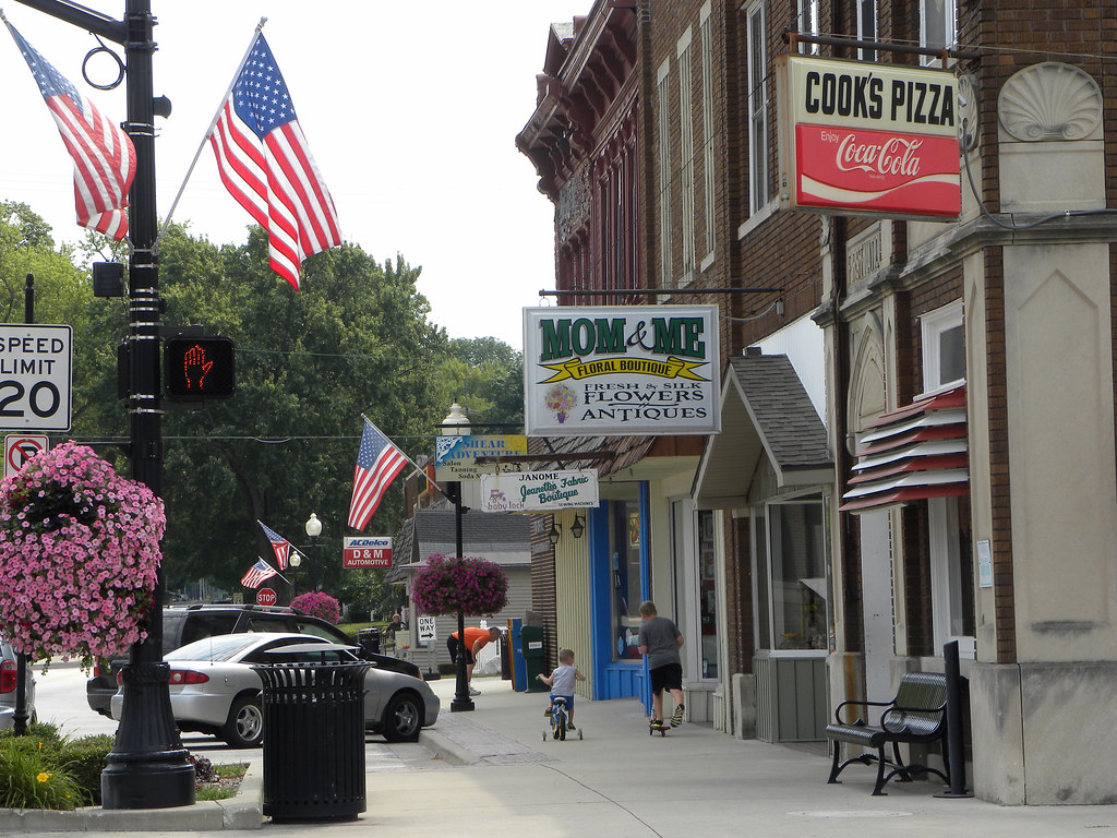 The Town Of Wakarusa Elkhart County Northern Indiana