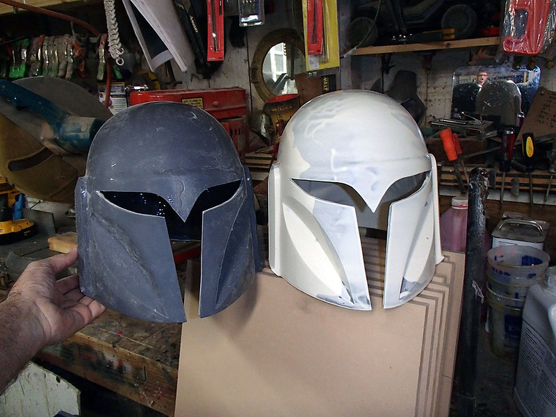 First and 2nd Helmet Cast