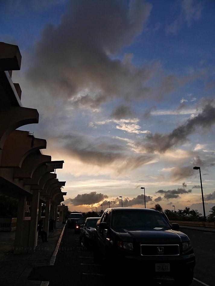 Trip to Guam-- the dusk