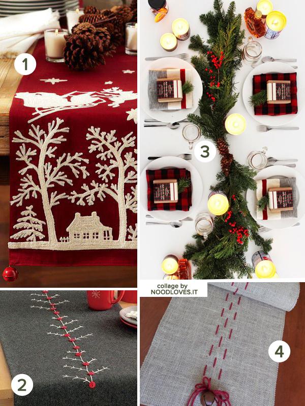 La tavola di natale le decorazioni e il bon ton noodloves - Decorazioni per la tavola di natale ...