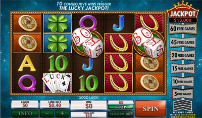 Streak of Luck slot game online review