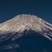 Fuji shining by the moon by shinichiro*