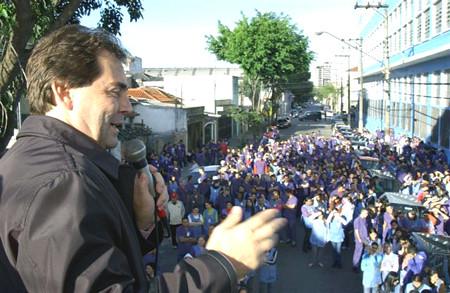 Mobilização da Campanha Salarial 2008