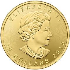 2014 Canadian gold bullion coin
