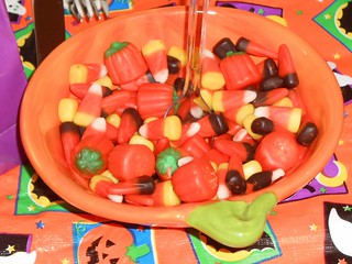 Candy Corn & Pumpkins