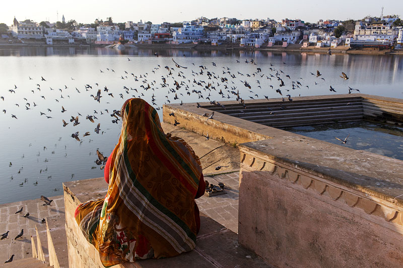 Holy Lake - Pushkar, India